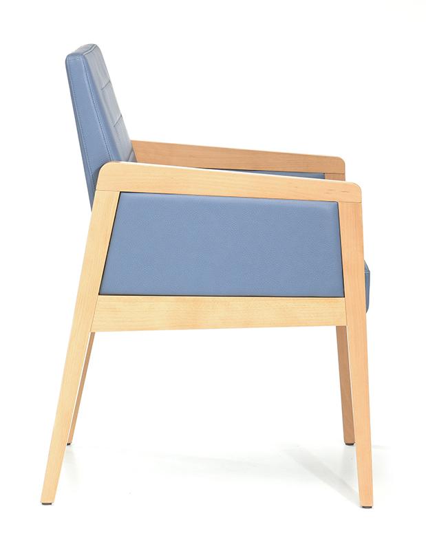Abbildung arm chair Paddy Seitenansicht