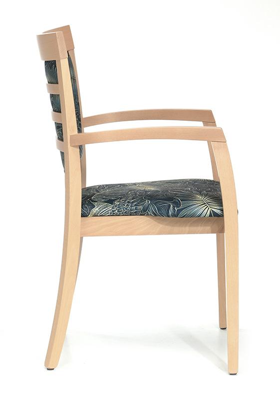 Abbildung arm chair Mily Seitenansicht