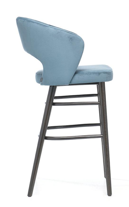 Abbildung bar stool Nilla Seitenansicht
