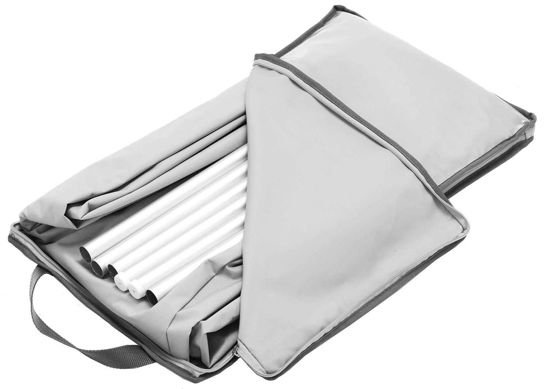 Abbildung accessories Schutzhülle Larea für Sonnenschirm Schrägansicht