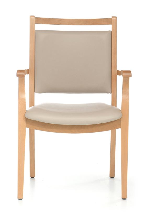 Abbildung Armlehnstuhl Zaina Vorderansicht