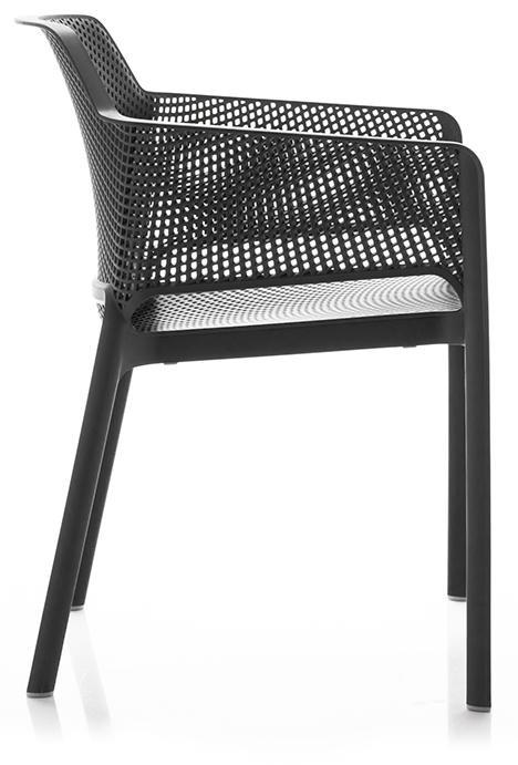 Abbildung arm chair Net Seitenansicht