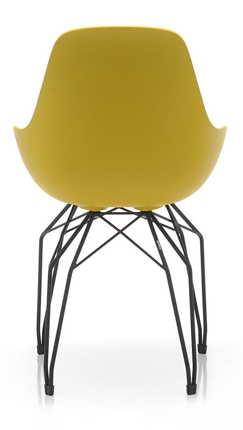 Abbildung Stuhl Dimple Rückansicht