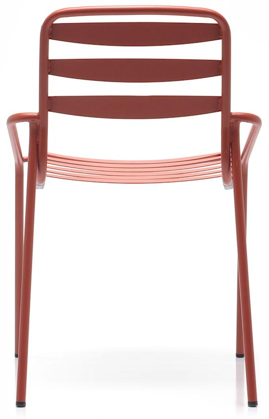 Abbildung Stuhl Toss Rückansicht