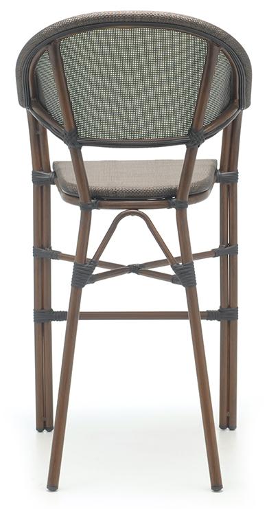 Abbildung bar stool Molden Rückansicht