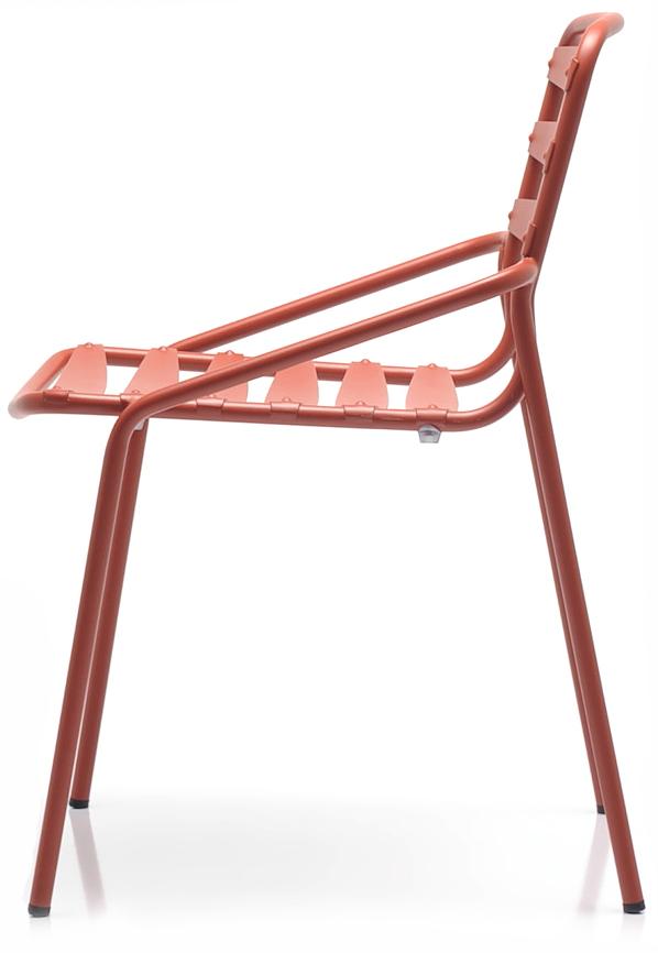 Abbildung Stuhl Toss Seitenansicht