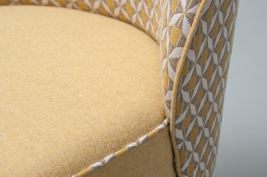 Abbildung armchair Cliff Detailansicht