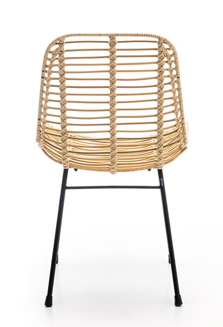 Abbildung Stuhl Naldo Rückansicht