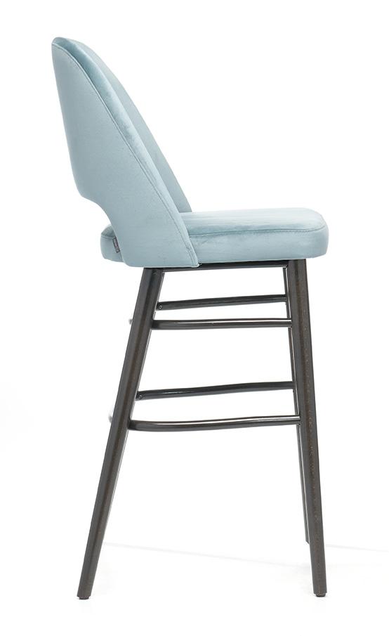 Abbildung bar stool Liska Seitenansicht