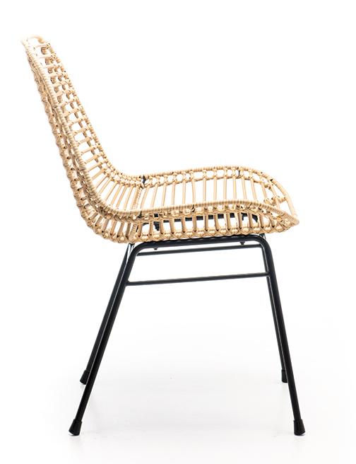 Abbildung Stuhl Naldo Seitenansicht
