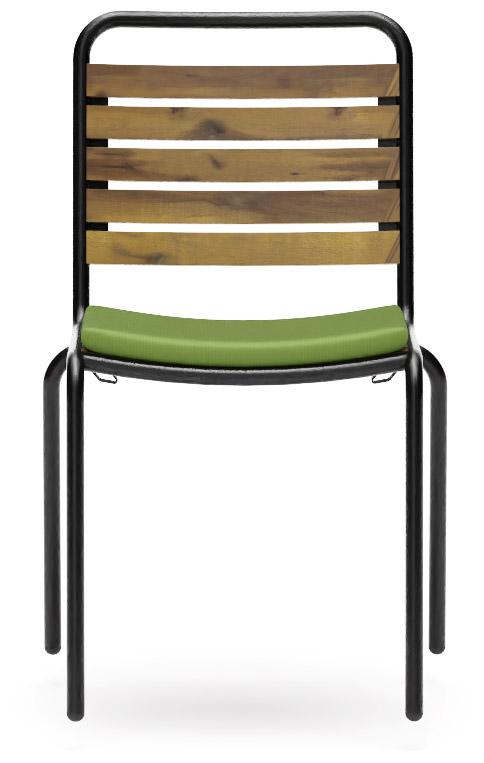 Abbildung chaise Bran Vorderansicht