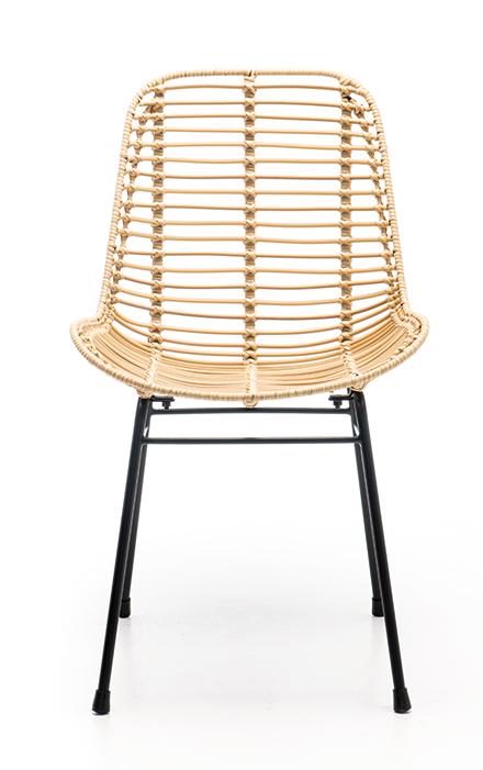 Abbildung Stuhl Naldo Vorderansicht