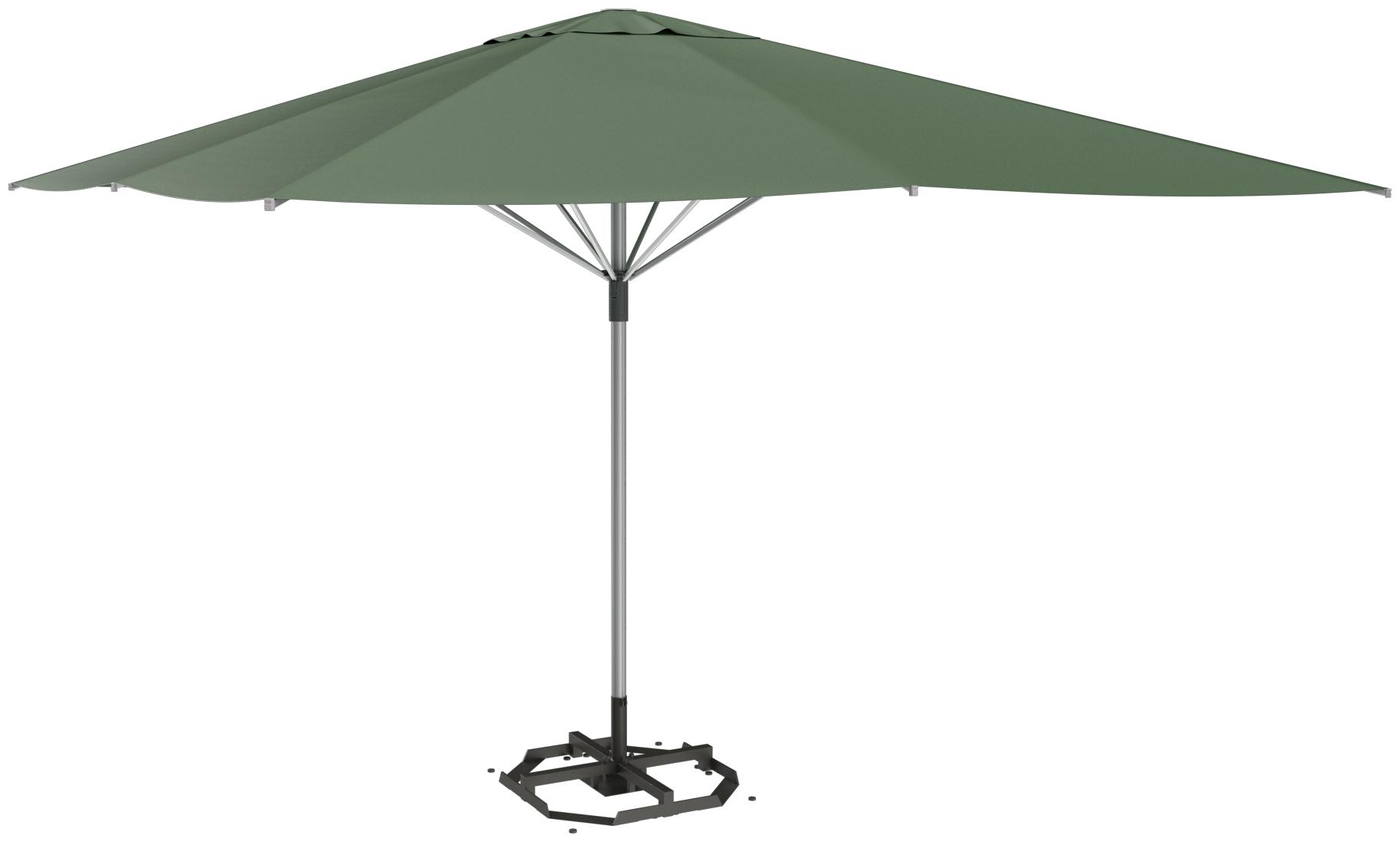 Abbildung Schirm Nerida Schrägansicht