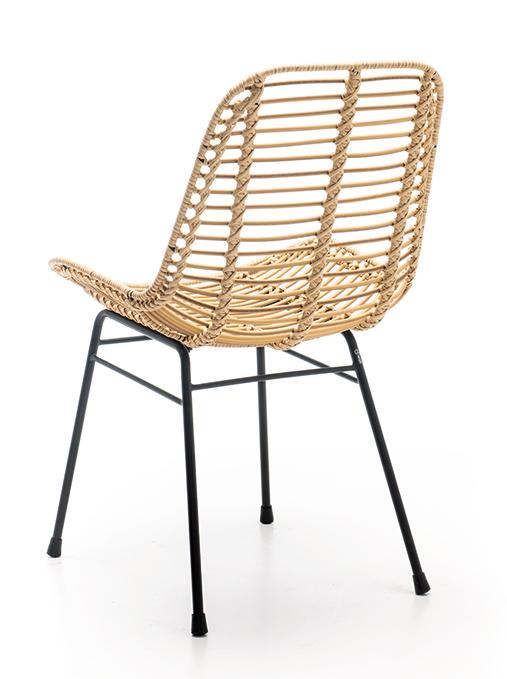 Abbildung Stuhl Naldo Schrägansicht