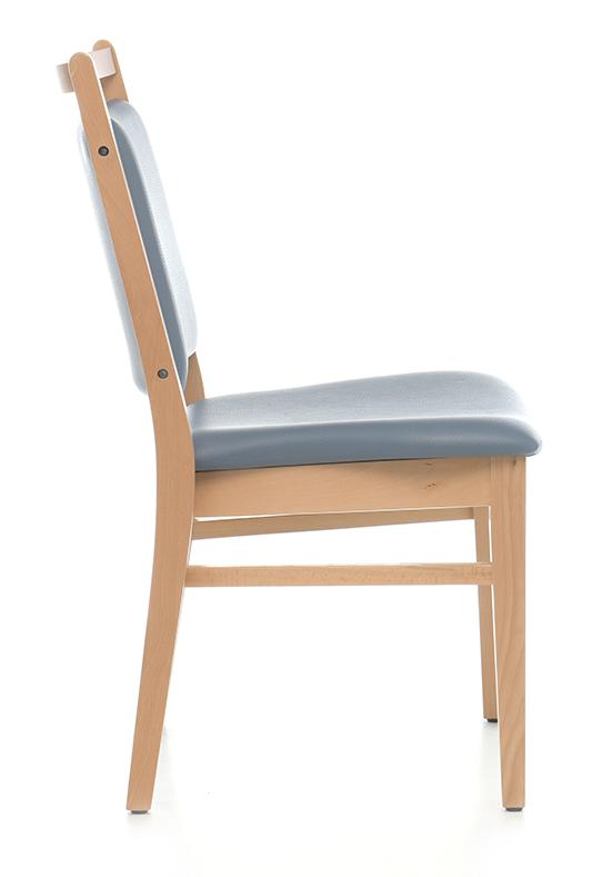 Abbildung Stuhl Zaina Seitenansicht
