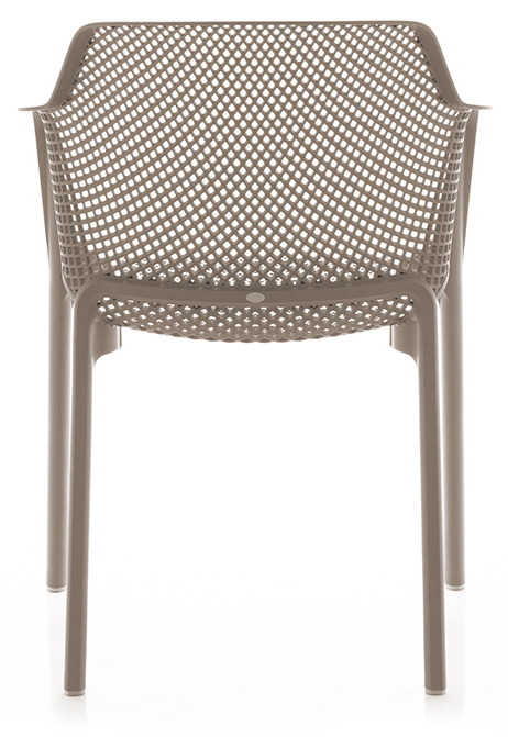 Abbildung arm chair Net Rückansicht