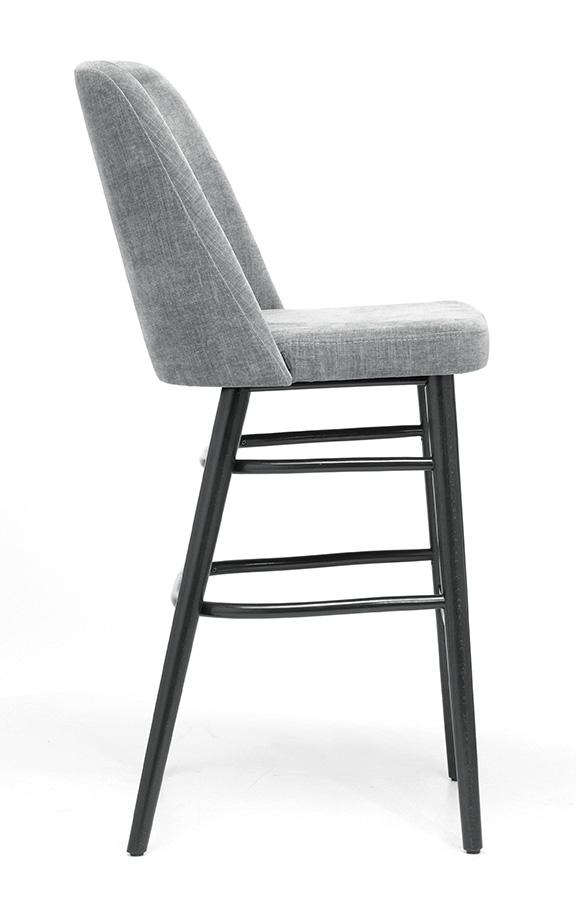 Abbildung bar stool Hada Seitenansicht