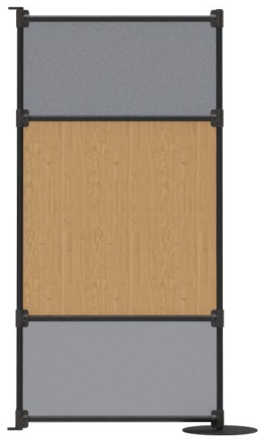 Abbildung Anschlusselement Spaces Vorderansicht