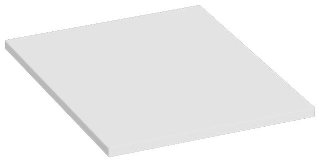 Abbildung Plateau de table PL5568WS Schrägansicht
