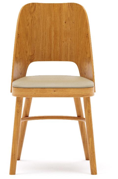 Abbildung Stuhl Delwin Vorderansicht