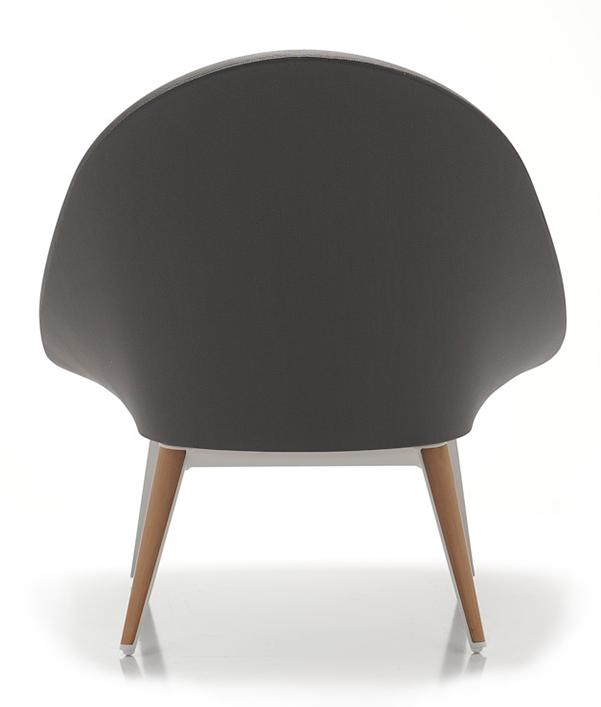 Abbildung armchair Tuxum Rückansicht