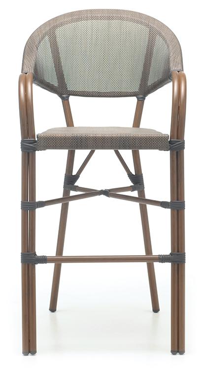 Abbildung bar stool Molden Vorderansicht