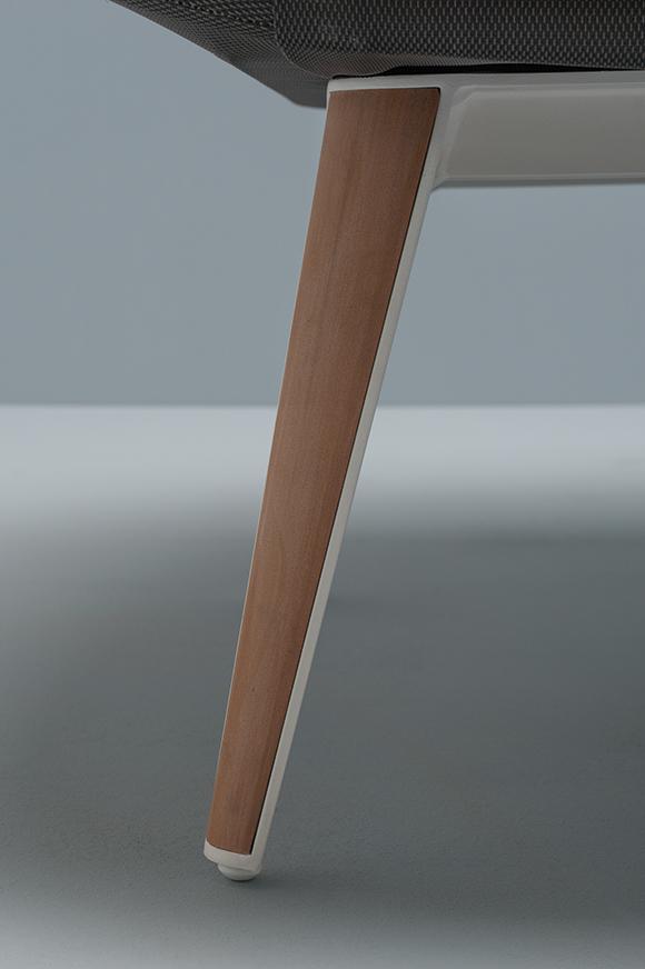 Abbildung armchair Tuxum Detailansicht