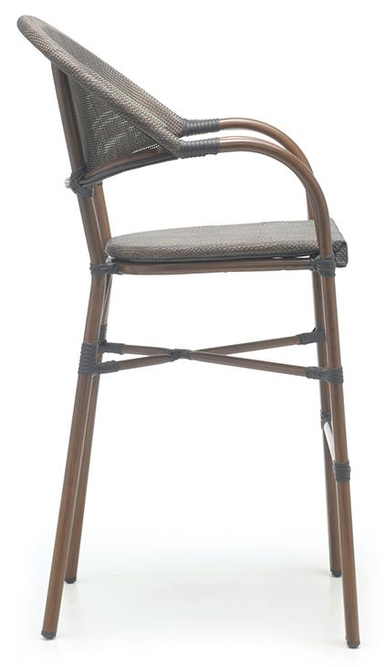 Abbildung bar stool Molden Seitenansicht